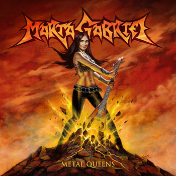 """CRYSTAL VIPER frontwoman Marta Gabriel to release """"Metal Queens"""" album, first song streaming!"""
