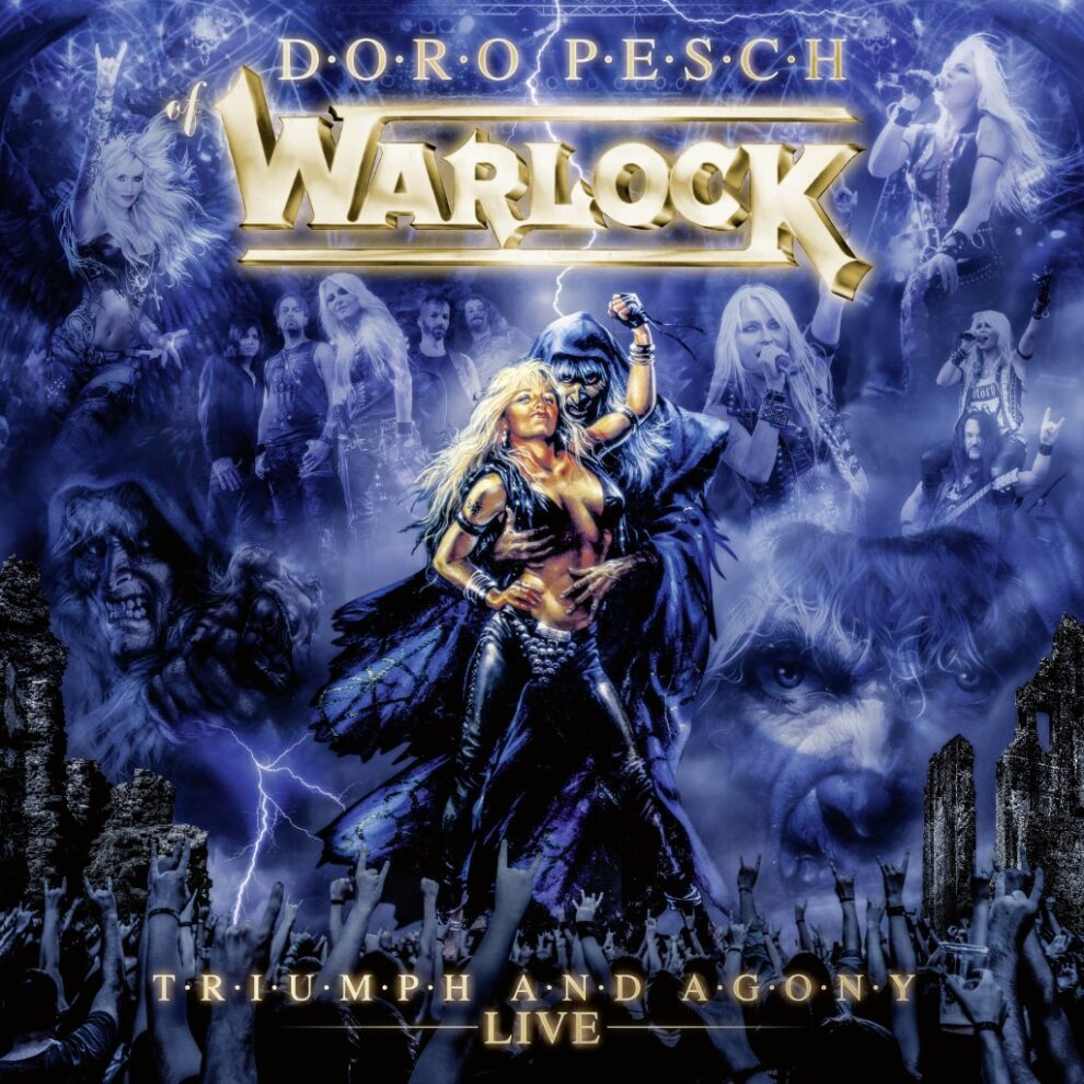 """DORO Reveals Cover Art And Tracklisting For """"Triumph And Agony Live"""""""