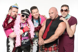 Ladies And Gentleman...Presenting GayC/DC! The All-Gay AC/DC Tribute Band