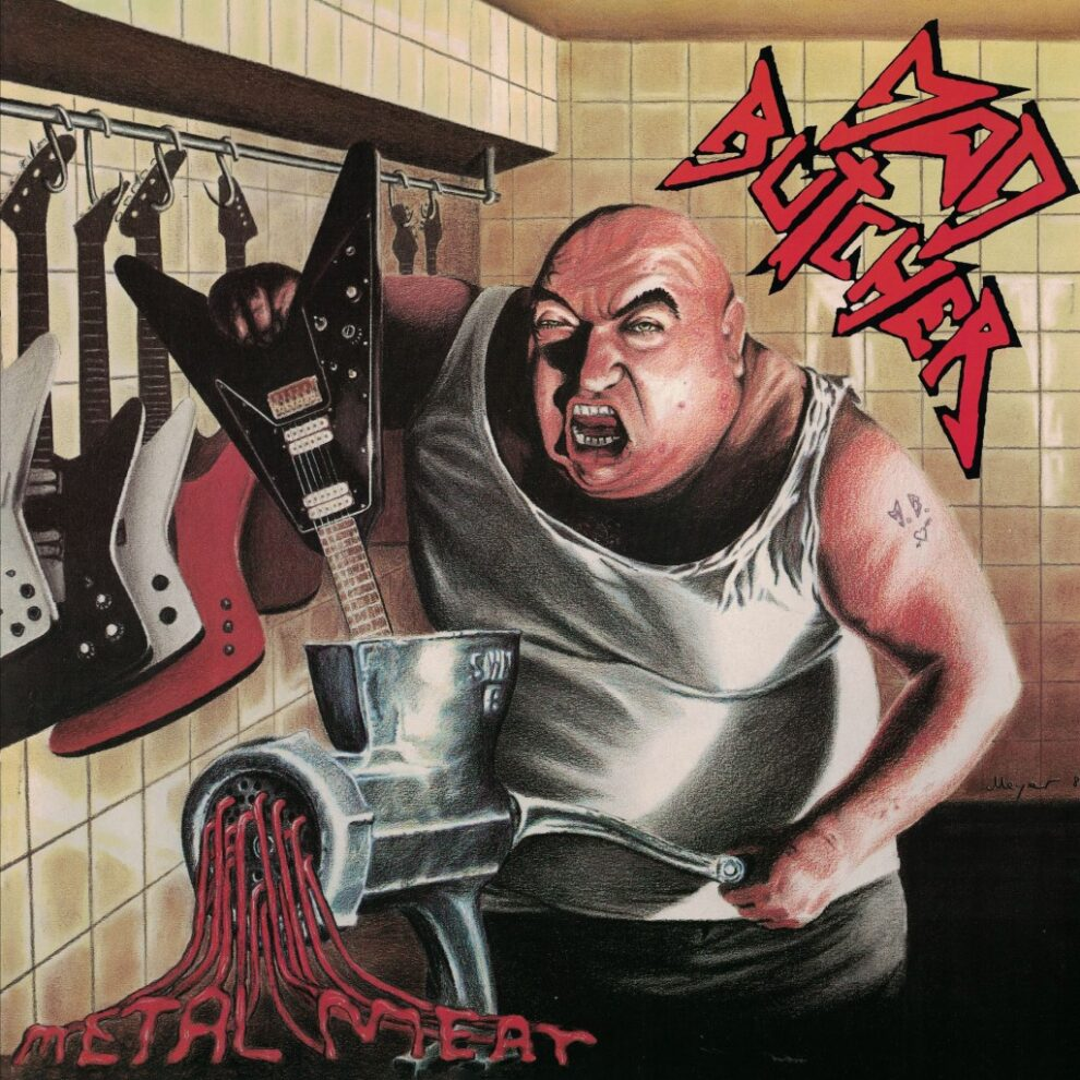MAD BUTCHER to have second album from 1987 reissued on vinyl